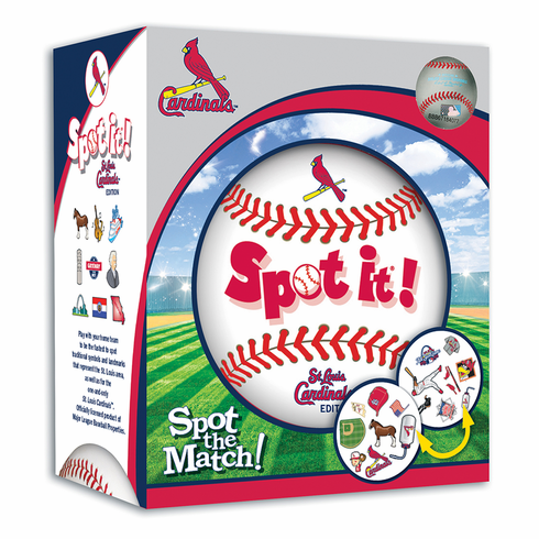 Baseball Spot it! St. Louis Cardinals Edition<br>LESS THAN 6 LEFT!