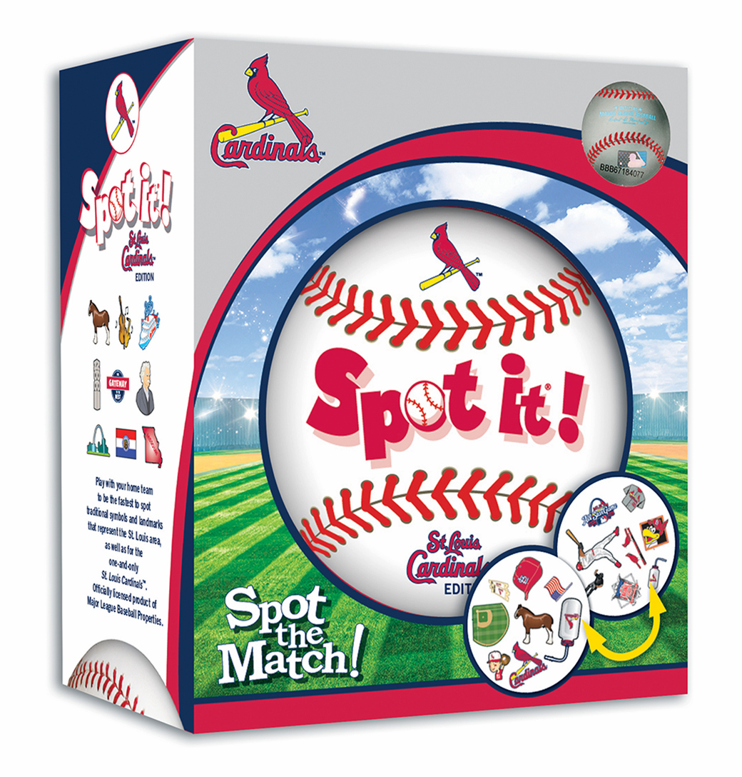 Baseball Spot it! St. Louis Cardinals Edition<br>ONLY 1 LEFT!