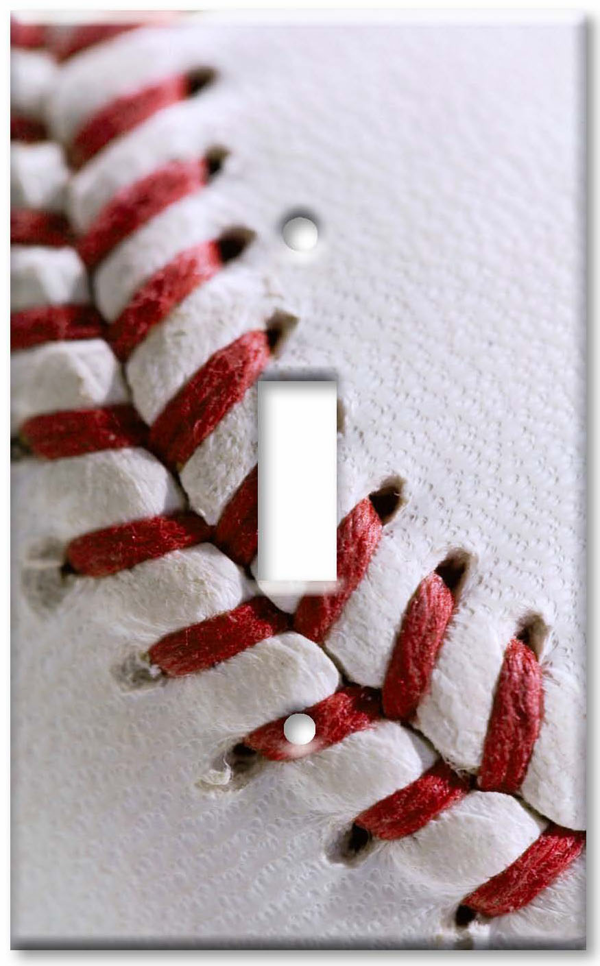 Baseball Stitch Switchplates