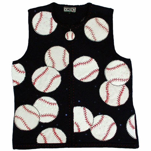 Baseball Sweater Vest by BEREK<br>SOLD OUT!