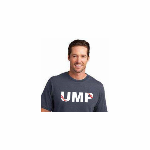 Baseball UMP T-Shirt<br>Choose Your Color<br>Youth Med to Adult 4X