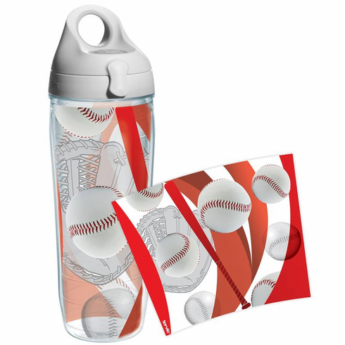 Baseball Wrap 24oz Water Bottle by Tervis