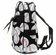 NGIL Baseballs on Black Quilted Backpack