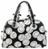 Baseballs on Black Small Quilted Duffel Bag<br>ONLY 4 LEFT!