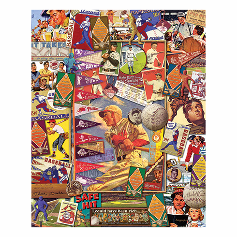 Batter Up 1000pc Puzzle