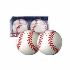 Batter Up Baseball Salt and Pepper Shakers<br>LESS THAN 12 LEFT!