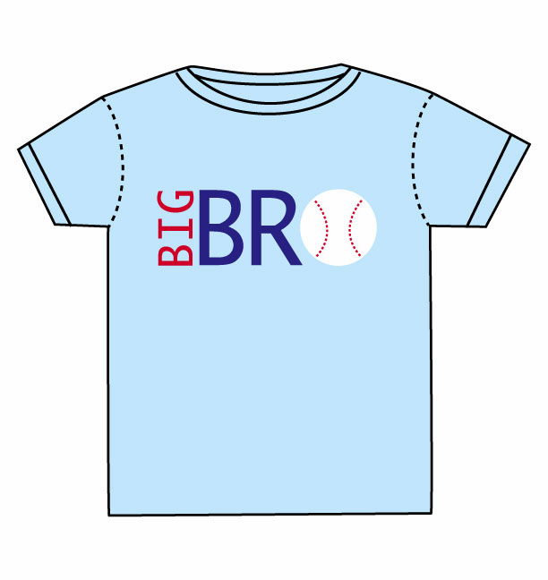 BIG BRO Baseball Toddler T-Shirt