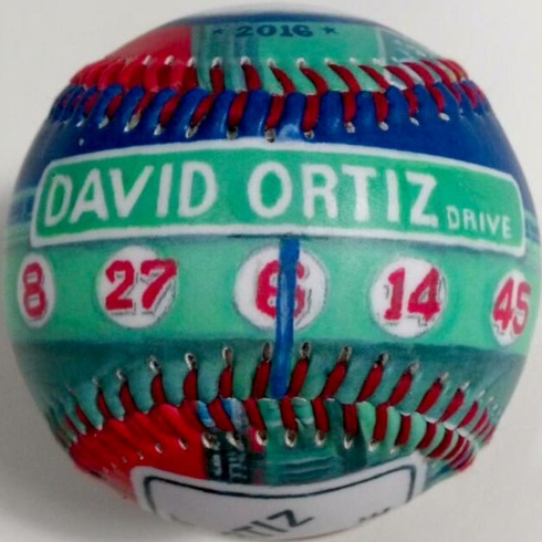 Big Papi David Ortiz Landmark Baseball