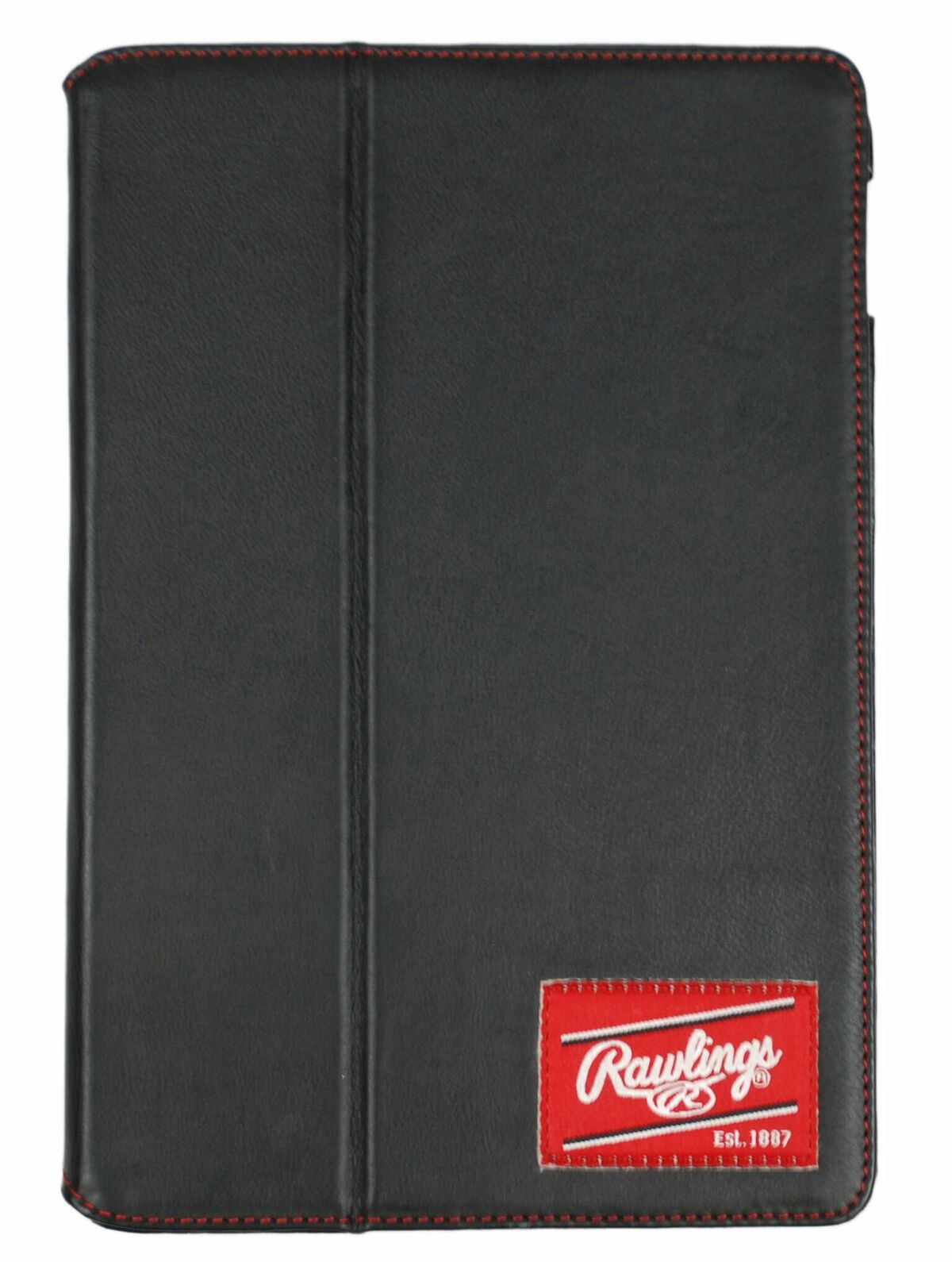 Black Leather iPad Air 2 Case by Rawlings<br>RETIRED DESIGN<br>ONLY 1 LEFT!