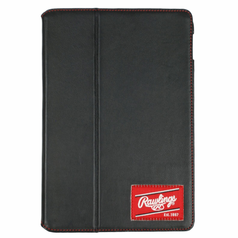 Black Leather iPad Air 2 Case by Rawlings<br>ONLY 1 LEFT!