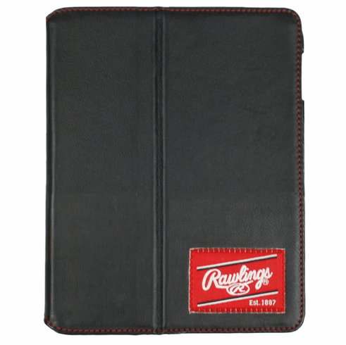 Black Leather iPad Mini Case by Rawlings<br>ONLY 1 LEFT!