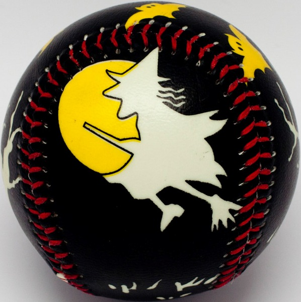 Black Night Halloween Baseball