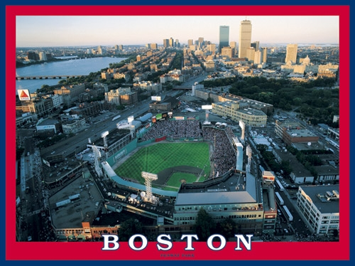 Boston Fenway Park 550pc Puzzle<br>LESS THAN 10 LEFT!