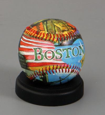 Boston Limited Edition Baseball<br>ONLY 1 LEFT!