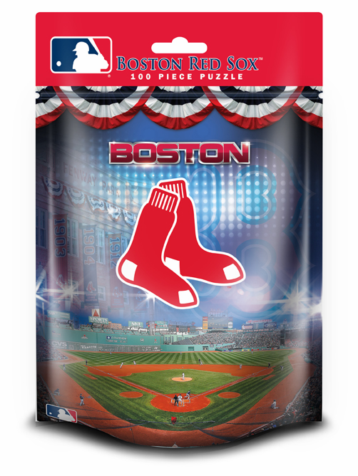 Boston Red Sox 100pc Pouch Puzzle<br>ONLY 1 LEFT!
