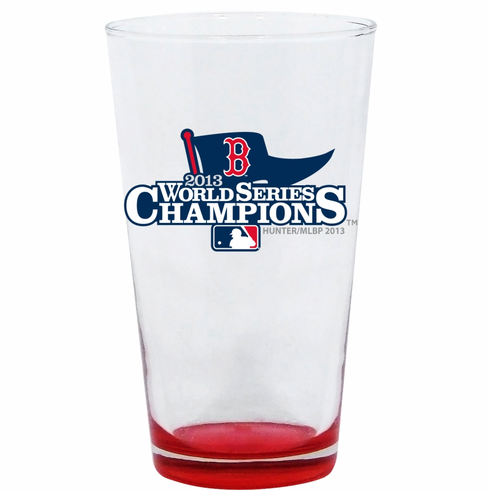 Boston Red Sox 2013 World Series Champions 17oz Highlight Mixing Glass<br>ONLY 1 LEFT!