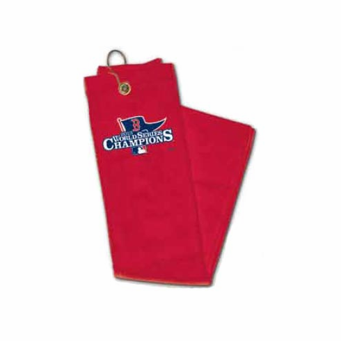 Boston Red Sox 2013 World Series Champions Embroidered Golf Towel<br>ONLY 2 LEFT!