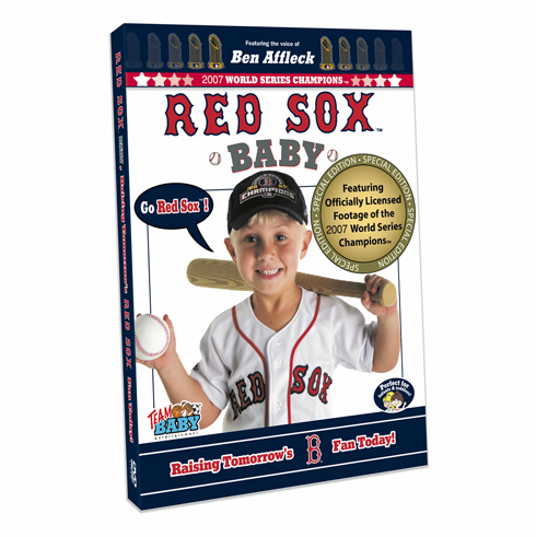 Boston Red Sox Baby DVD<br>ONLY 5 LEFT!