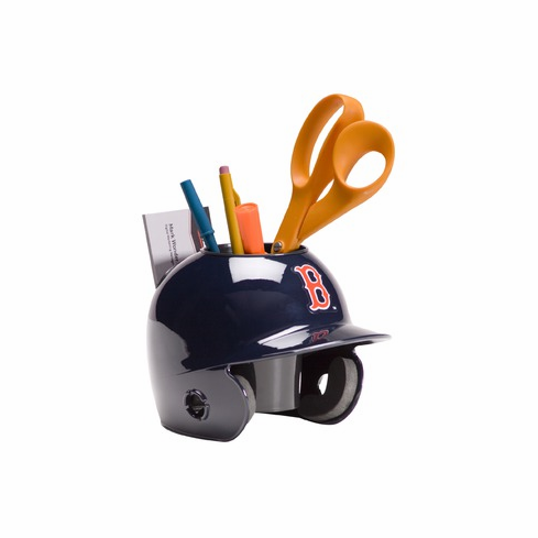Boston Red Sox Baseball Helmet Desk Caddy