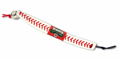 Boston Red Sox<br>Fenway Park 100 Years<br>Baseball Seam Bracelet