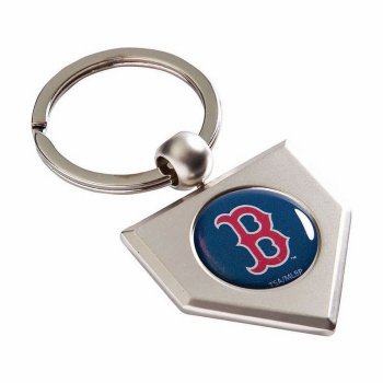 Boston Red Sox Home Plate Key Chain