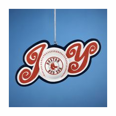 Boston Red Sox JOY Ornament
