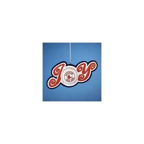 AFTER CHRISTMAS SALE!<br>Boston Red Sox JOY Ornament