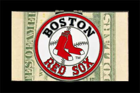 Boston Red Sox Logo Money Clip