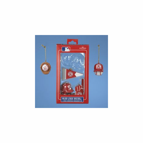 AFTER CHRISTMAS SALE!<br>Boston Red Sox Mini Ornament Set