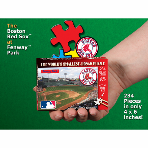 Boston Red Sox MLB World's Smallest Jigsaw Puzzle<br>ONLY 2 LEFT!