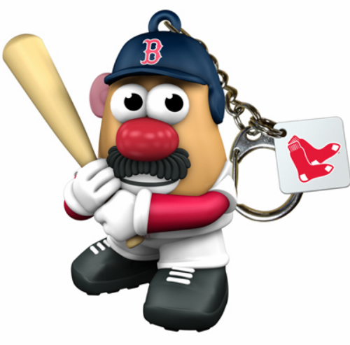 Boston Red Sox Mr. Potato Head Keyring