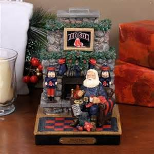Boston Red Sox Santa's Treats Collectible by Memory Company<br>ONLY 1 LEFT!