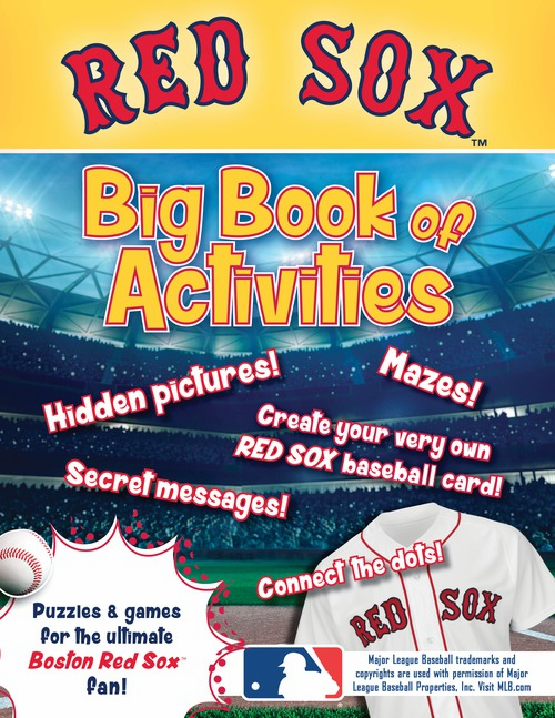 Boston Red Sox: The Big Book of Activities<br>ONLY 1 LEFT!