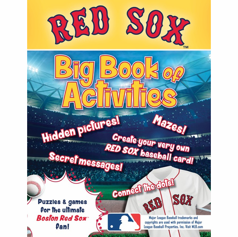 Boston Red Sox: The Big Book of Activities<br>ONLY 2 LEFT!