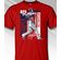 Bryce Harper Washington Colorblock T-Shirt<br>Short or Long Sleeve<br>Youth Med to Adult 4X