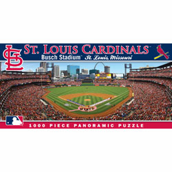Busch Stadium St. Louis Cardinals 1000pc Panoramic Puzzle<br>ONLY 4 LEFT!
