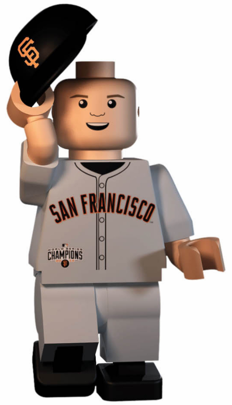 Buster Posey San Francisco Giants 2014 World Series Champions OYO Mini Figure<br>LESS THAN 10 LEFT!