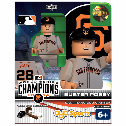 OYO SALE!<br>Buster Posey San Francisco Giants 2014 World Series Champions OYO Mini Figure<br>ONLY 1 LEFT!
