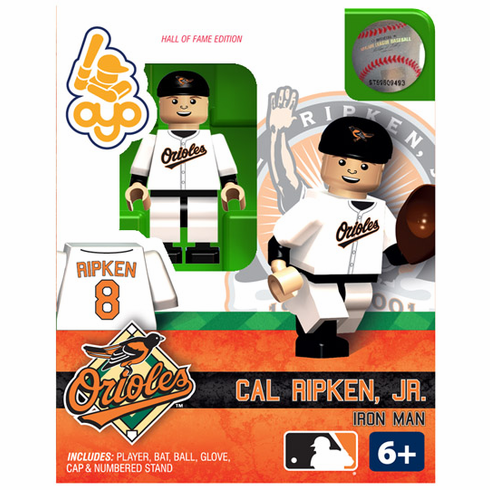Cal Ripken, Jr. Baltimore Orioles Hall of Fame OYO Mini Figure<br>ONLY 4 LEFT!
