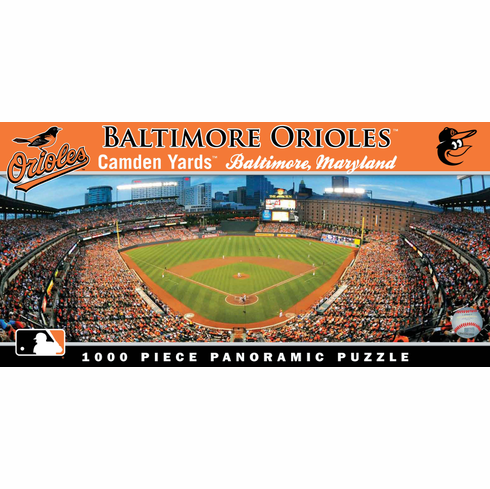Camden Yards Baltimore Orioles 1000pc Panoramic Puzzle<br>ONLY 1 LEFT!