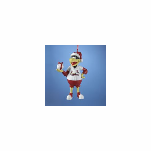Cardinals Fredbird Resin Ornament<br>LESS THAN 10 LEFT!