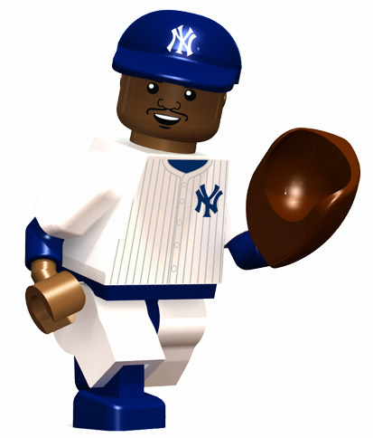 CC Sabathia New York Yankees OYO Mini Figure