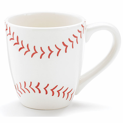Ceramic Baseball Coffee Mug