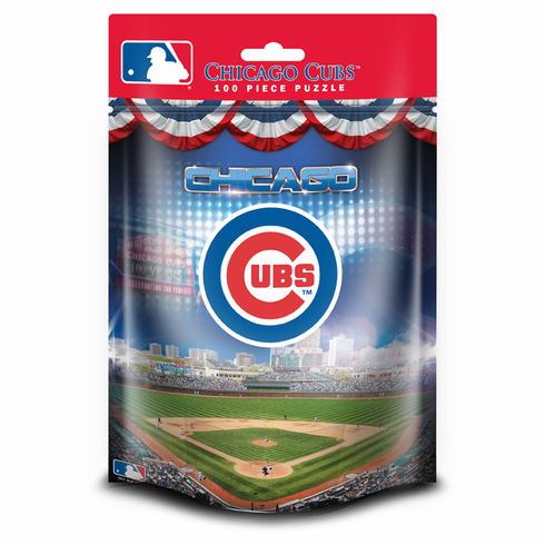 Chicago Cubs 100pc Puzzle<br>CHOOSE POUCH OR BOX!
