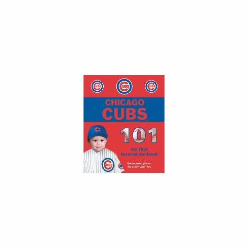 Chicago Cubs 101<br>Board-Book<br>ONLY 1 LEFT!