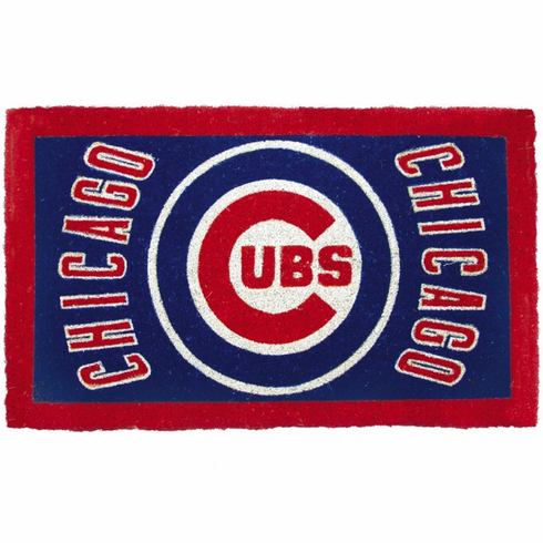 Chicago Cubs 18x30 Welcome Mat<br>ONLY 1 LEFT!