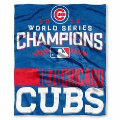 Chicago Cubs 2018 World Series Chions 50 X 60 Silk Touch Throw Blanket. Chicago Cubs 2018 World Series Chs Gifts Collectibles