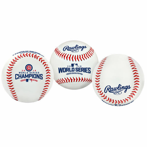 Chicago Cubs 2016 World Series Champions Collectible Baseball<br>ONLY 1 LEFT!