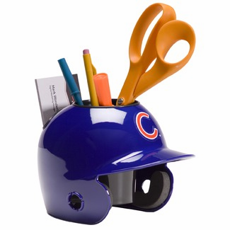 Chicago Cubs Baseball Helmet Desk Caddy<br>LESS THAN 10 LEFT!