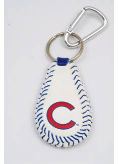 Chicago Cubs<br>Baseball Seam Keychain